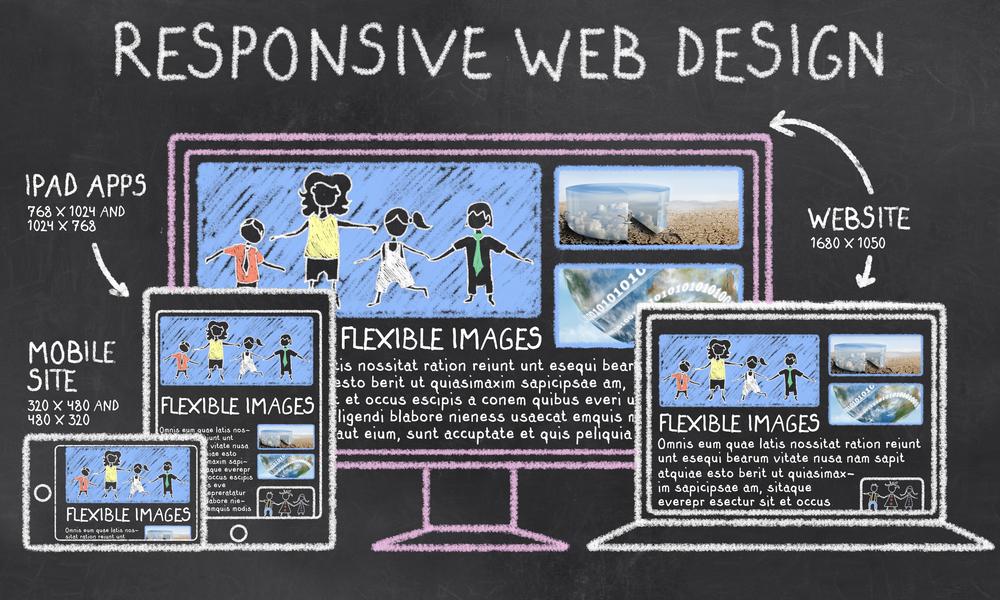 Responsive Web Design on Blackboard