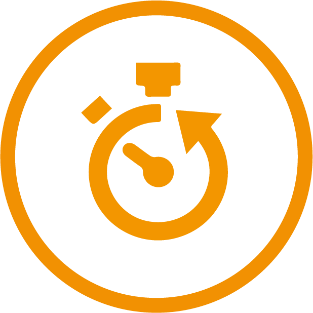 turnaround support icon